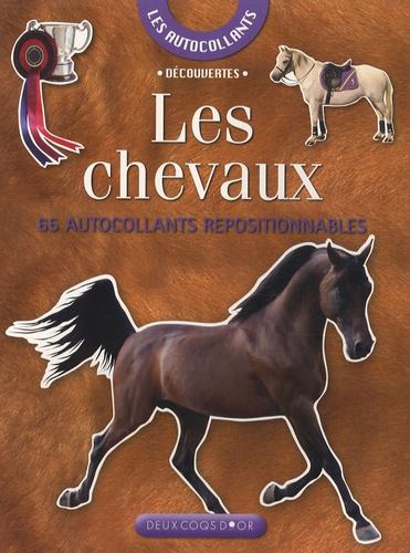 Josette Gontier - Les chevaux - 65 Autocollants repositionnables.