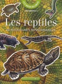 Josette Gontier - Les reptiles - 65 Autocollants repositionnables.