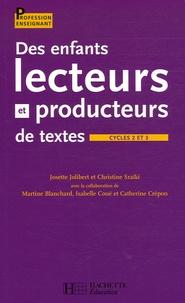 Des enfants lecteurs et producteurs de textes Cycles 2 et 3.pdf