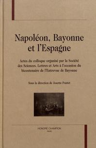Openwetlab.it Napoléon, Bayonne et l'Espagne - Actes du colloque organisé par la Société des sciences, lettres et arts à l'occasion du bicentenaire de l'Entrevue de Bayonne Image