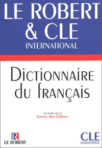 Josette Rey-Debove - Le Robert & CLE international, Dictionnaire du français.