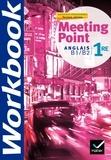 Josette Starck et Dominique Santoni - Anglais 1re B1/B2 Meeting Point - Workbook.