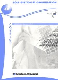 Pôle gestion et organisation BTS assistant de direction. - Corrigé.pdf