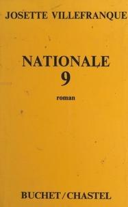 Josette Villefranque - National 9.