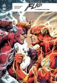 Joshua Williamson et Howard Porter - Flash rebirth Tome 6 : La guerre des Flash.