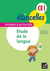 Josiane Boutet et Denis Chauvet - Etude de la langue CE1 - Fichier d'activités.