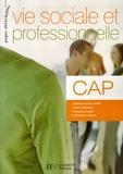 Josiane Brin-Wiart et Anne Durand - Vie sociale et professionnelle CAP.