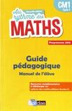Josiane Hélayel et Catherine Fournié - Au rythme des maths CM1 - Guide pédagogique du manuel de l'élève.