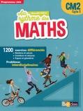 Josiane Hélayel et Catherine Fournié - Au rythme des maths CM2 - Manuel de l'élève.