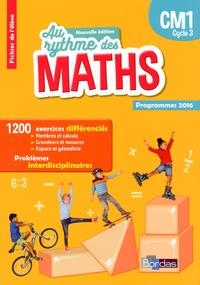 Josiane Hélayel et Catherine Fournié - Mathématiques CM1 Cycle 3 Au rythme des maths - Fichier de l'élève.