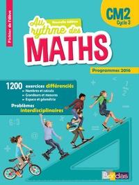 Josiane Hélayel et Catherine Fournié - Mathématiques CM2 Cycle 3 Au rythme des maths - Fichier de l'élève.