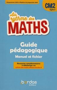 Josiane Hélayel et Catherine Fournié - Mathématiques CM2 Cycle 3 Au rythme des maths - Guide pédagogique.