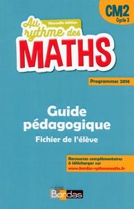 Josiane Hélayel et Catherine Fournié - Mathématiques CM2 Le nouveau rythme des maths - Livre du maître du fichier.