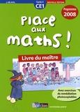 Josiane Hélayel - Place aux maths ! CE1 - Livre du maître, programmes 2008.