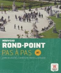 Josiane Labascoule et Christian Lause - Nouveau Rond-Point pas à pas  A1 - Livre de l'élève. 1 Cédérom