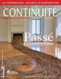 Josiane Ouellet et Lydia Bouchard - Continuité. No. 143, Hiver 2015 - Passé recomposé.