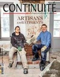 Josiane Ouellet et Arthur Plumpton - Continuité. No. 144, Printemps 2015 - Artisans en bâtiments.