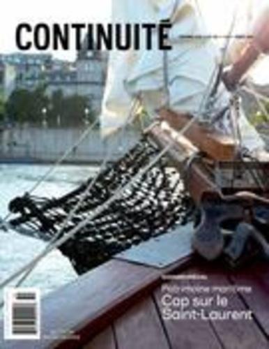 Josiane Ouellet et Louise Lalonger - Continuité. No. 150, Automne 2016 - Patrimoine maritime. Cap sur le Saint-Laurent.