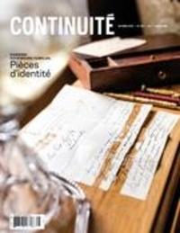 Josiane Ouellet et Mélissa Mars - Continuité  : Continuité. No. 166, Automne 2020 - Patrimoine familial. Pièces d'identité.