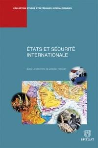 Josiane Tercinet - Etats et sécurité internationale.