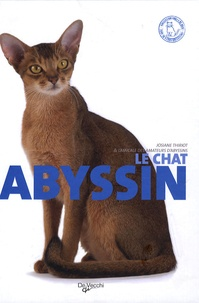 Josiane Thiriot - Le chat abyssin.