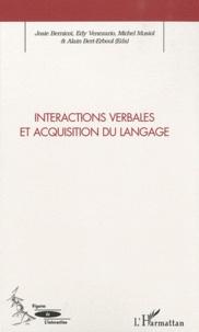Josie Bernicot et Edy Veneziano - Interactions verbales et acquisition du langage.