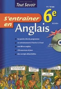 Josiette Graciet et Violet Jauffret - S'entraîner en Anglais 6e. 1 CD audio
