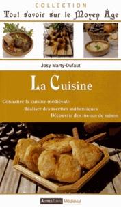 Josy Marty-Dufaut - La cuisine.