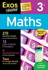 Josyane Curel et Paul Fauvergue - Maths 3e.