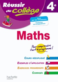 Maths 4e - Josyane Curel |