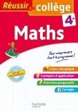Josyane Curel et Paul Fauvergue - Maths 4e.