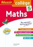 Josyane Curel et Paul Fauvergue - Maths 5e.
