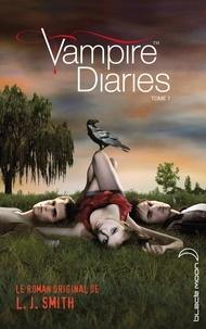 Journal d'un vampire 1 avec affiche de la série TV en couverture.