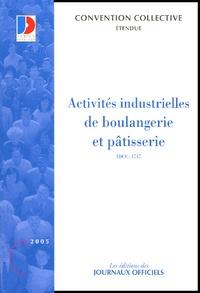 Deedr.fr Activités industrielles de boulangerie et pâtisserie - Convention collective nationale du 13 juillet 1993 Image