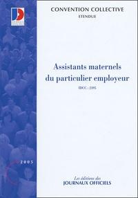 Assistants maternels du particulier employeur - Convention collective nationale du 1e juillet 2004.pdf