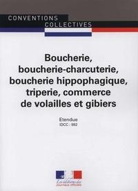 Boucherie, boucherie-charcuterie, boucherie hippophagique, triperie, commerce de volailles et gibier - Convention collective nationale du 12 décembre 1978.pdf