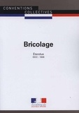Journaux officiels - Bricolage - IDCC 1606.