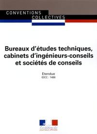 Journaux officiels - Bureaux d'études techniques, cabinets d'ingénieurs-conseils et sociétés de conseils - IDCC : 1486.