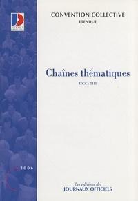 Journaux officiels - Chaînes thématiques.