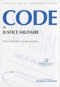 Deedr.fr Code de justice militaire - Parties législative et réglementaire Image