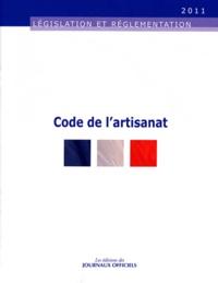 Journaux officiels - Code de l'artisanat.