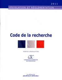 Journaux officiels - Code de la recherche.