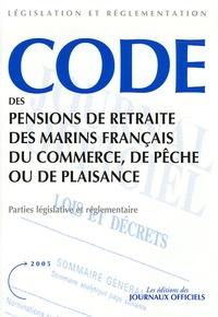 Histoiresdenlire.be Code des pensions de retraite des marins français du commerce, de pêche ou de plaisance Image
