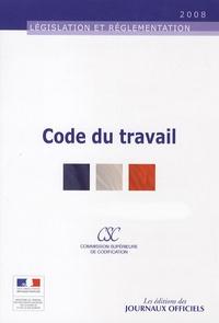 Journaux officiels - Code du travail - 3 volumes.