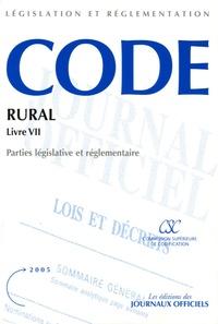 Code rural - Livre 7, Dispositions sociales.pdf