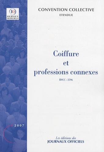 Journaux officiels - Coiffure et professions connexes.