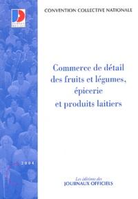 Commerce De Detail Des Fruits Et Legumes Journaux Officiels