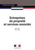 Journaux officiels - Entreprises de propreté et services associés.