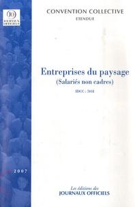Deedr.fr Entreprises du paysage (salariés non cadres) - Convention collective nationale du 23 mars 1999 (étendue par arrêté du 8 juin 1999), Mai 2007 Image