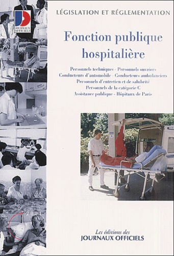 Journaux officiels - Fonction publique hospitalière.